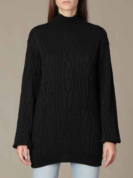 Manila Grace: Manila Grace oversized pullover in textured fabric