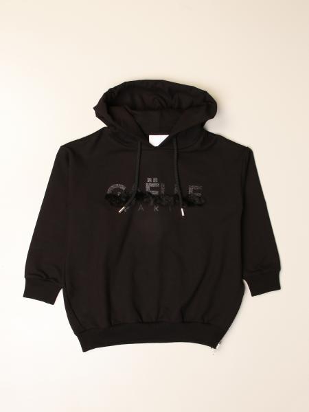 GaËlle Paris hooded sweatshirt with logo