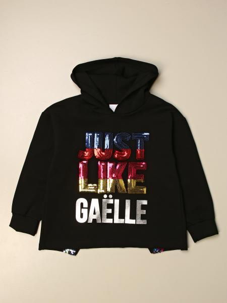 Gaëlle Paris cotton sweatshirt with big logo