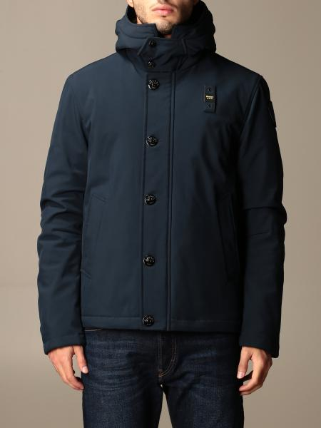 Blauer jacket with hood and logo