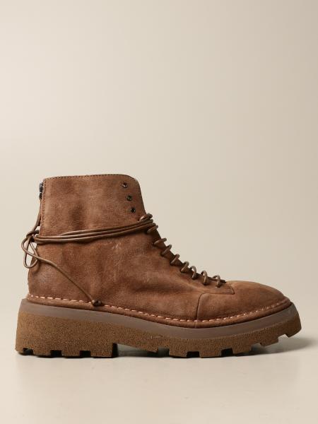 Marsèll Dentolone ankle boot in suede deerskin