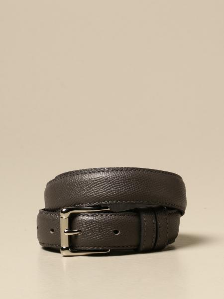 Cintura Ami Alexandre Mattiussi in pelle