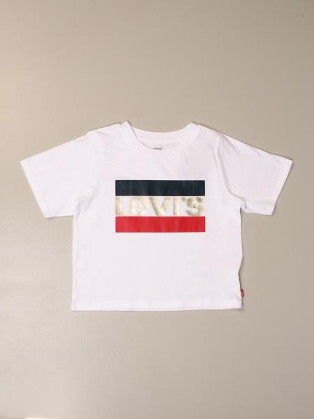 Levi's: Levi's cropped t-shirt with logo
