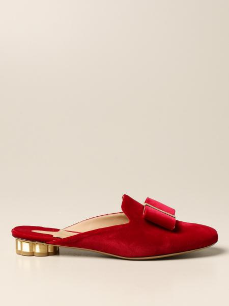 Sandales plates femme Salvatore Ferragamo