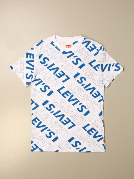 T-shirt Levi's con logo all over