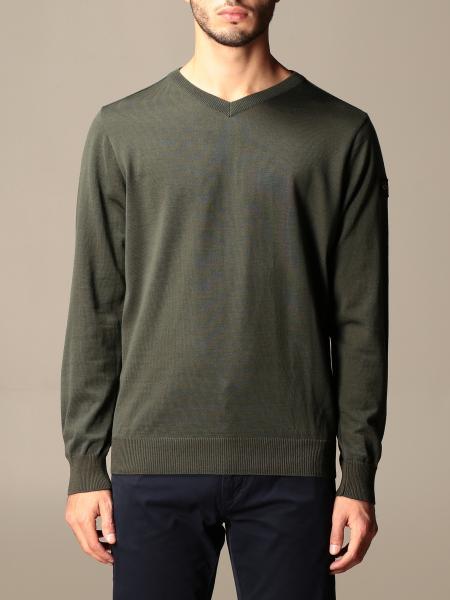 Paul & Shark: Paul & Shark crewneck sweater in wool