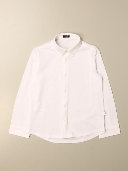 Il Gufo basic shirt with button down collar