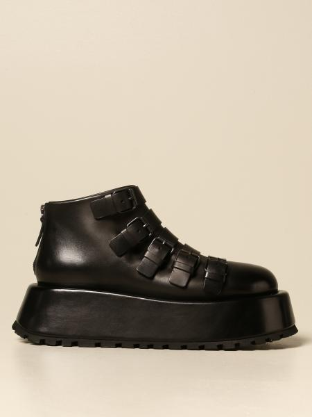 Marsèll: Marsèll Campana ankle boot in calfskin with buckles