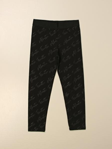 Pantalone Alberta Ferretti Junior con logo all over