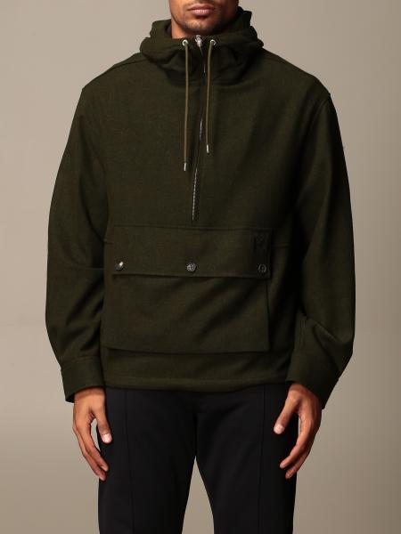 Kenzo: Kenzo hooded sweatshirt with zip