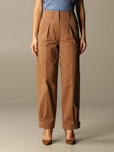 Kenzo: Pantalone Kenzo ampio a vita alta