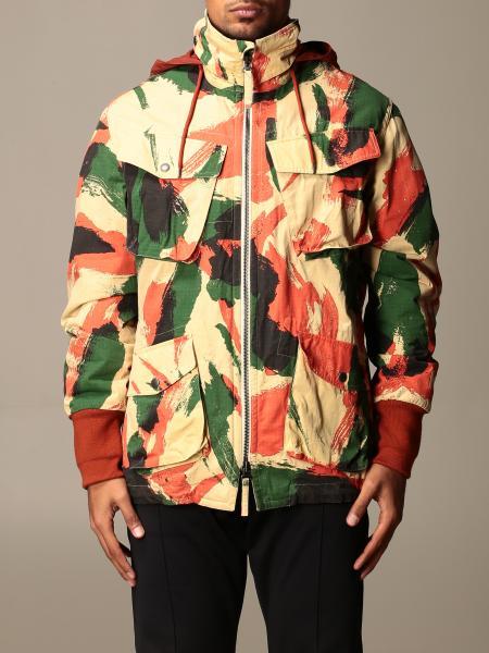 Kenzo: Kenzo printed zip jacket