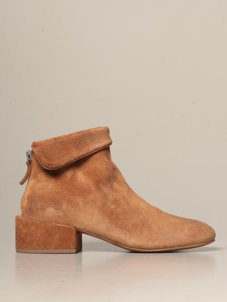 Marsèll: Marsèll Buccia Zip ankle boot in real suede