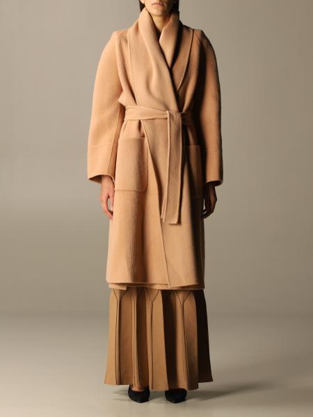 Cappotto a vestaglia Elisabetta Franchi con cinta
