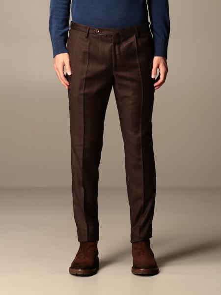Incotex: Pantalone Incotex a quadri