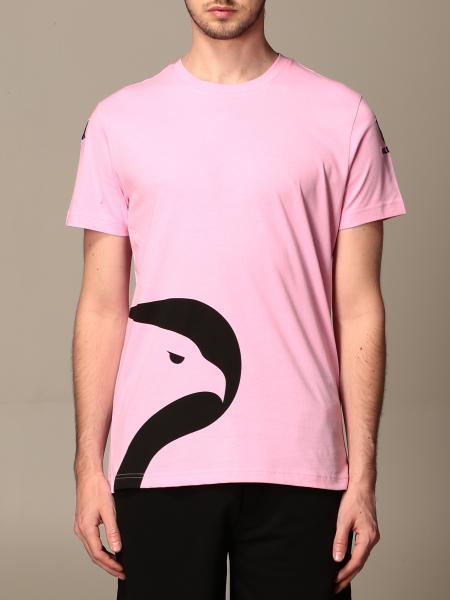 T-shirt amepos kappa palermo con stemma