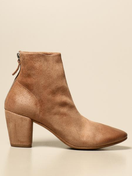 Marsèll: Zip Coltello Marsèll ankle boot in suede leather