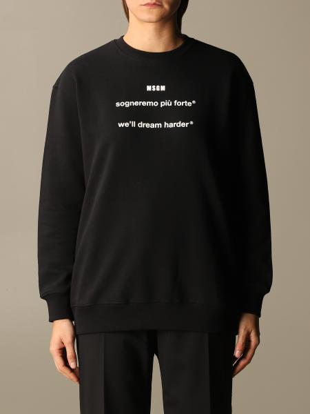 Sweatshirt damen Msgm