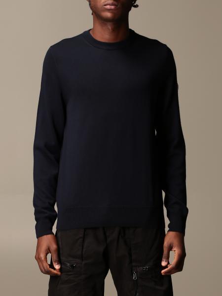 Ea7 男士: EA7 羊毛圆领毛衣