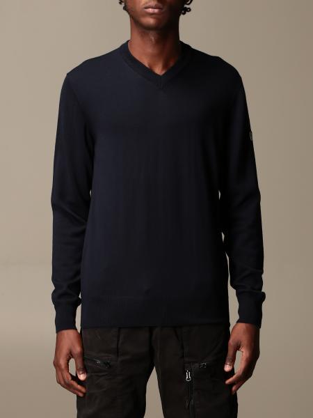 Ea7 男士: EA7 基本款羊毛V领毛衣