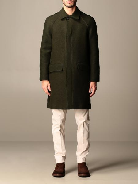 Classic Paolo Pecora single-breasted coat