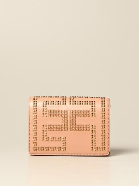 Elisabetta Franchi women: Elisabetta Franchi bag in synthetic leather with studs