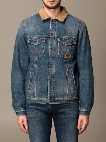 Roy Rogers: Roy Rogers denim jacket with contrast collar