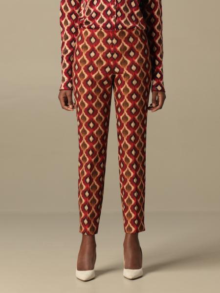 Maliparmi: Pantalone Maliparmi a fantasia