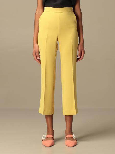 Maliparmi: Pantalone classic Maliparmi cropped