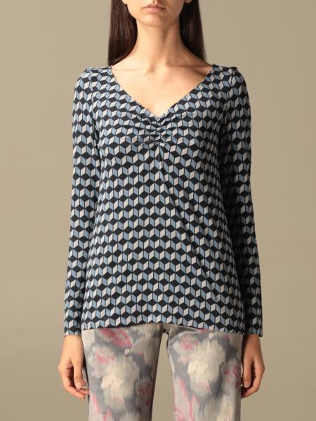 Maliparmi: T-shirt Maliparmi con stampa geometrica