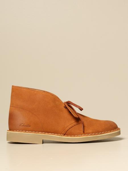 Ботинки дезерты Мужское Clarks