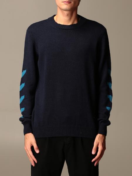 Alessandro Dell'acqua: Alessandro Dell'acqua 圆领毛衣,对比色细节