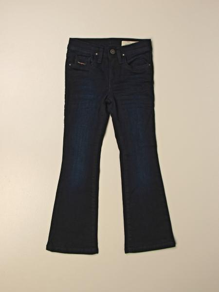 Diesel jeans in denim with flared bottom