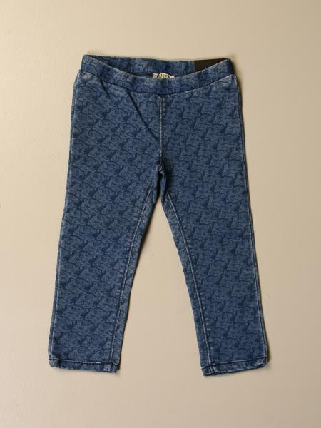 Jeans Kenzo Junior con logo all over