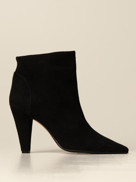 Anna F. ankle boot in suede