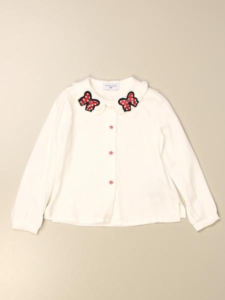 Camicia Monnalisa con fiocchi