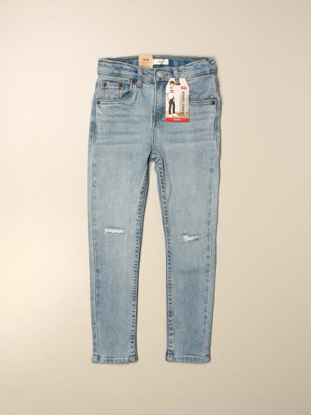 Levi's denim jeans with tears