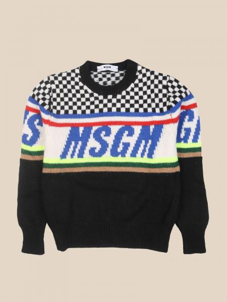 Msgm: Pullover kinder Msgm Kids