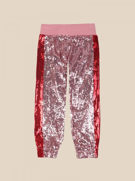 Alberta Ferretti Junior jogging trousers in sequins