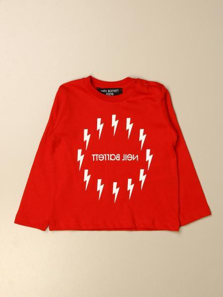 Neil Barrett: Neil Barrett logo t-shirt