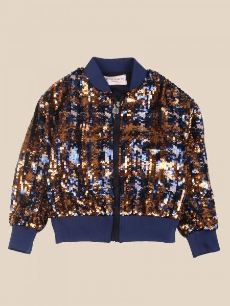 Alberta Ferretti Junior sequin bomber jacket