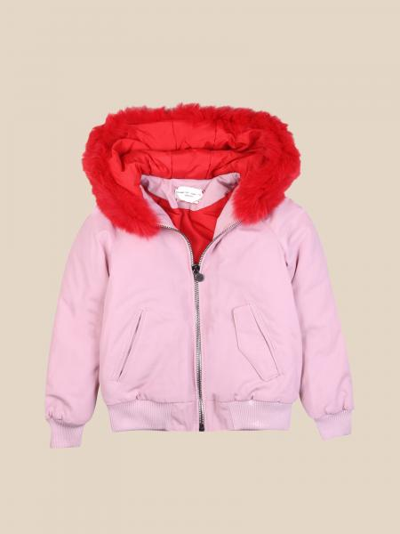 Alberta Ferretti Junior jacket with writing