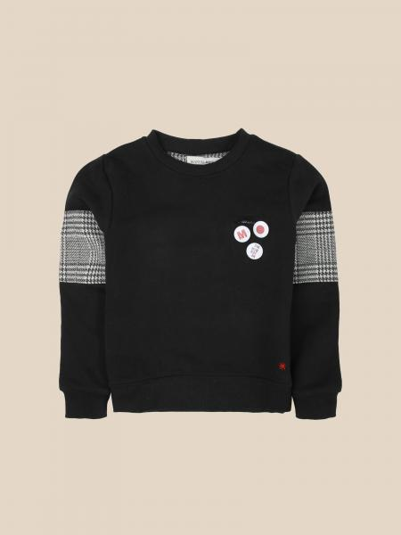 Manuel Ritz crewneck sweatshirt with check details