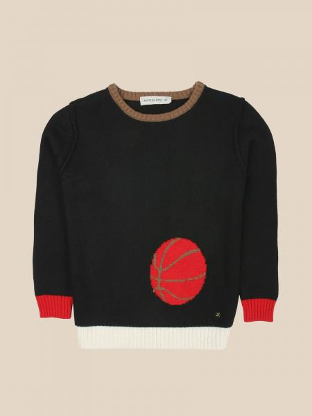 Manuel Ritz crewneck sweater with jacquard ball
