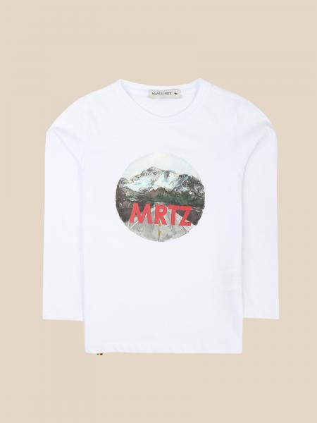 Manuel Ritz T-shirt with contrasting logo