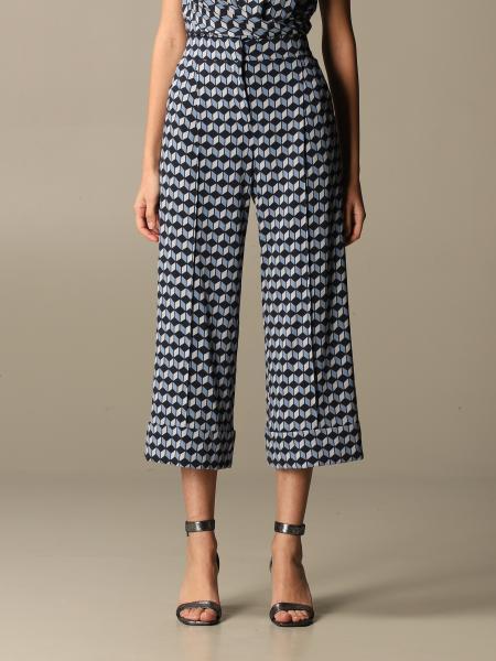 Maliparmi: Wide patterned Maliparmi trousers