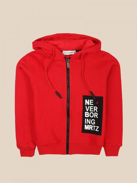 Manuel Ritz sweatshirt with hood and zip