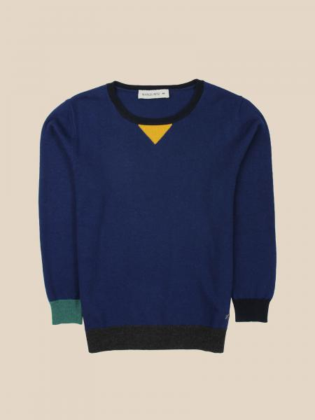 Manuel Ritz crewneck sweater with colored details