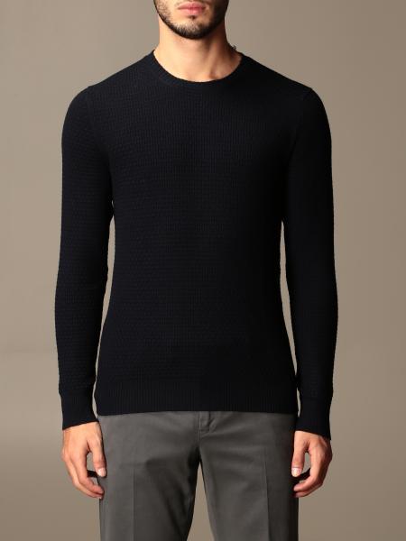 Gran Sasso: Gran Sasso crewneck sweater in virgin wool