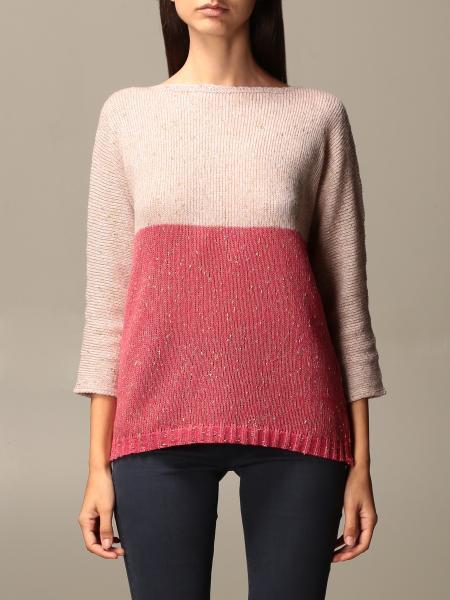 Gran Sasso: Gran Sasso sweater in two-tone virgin wool
